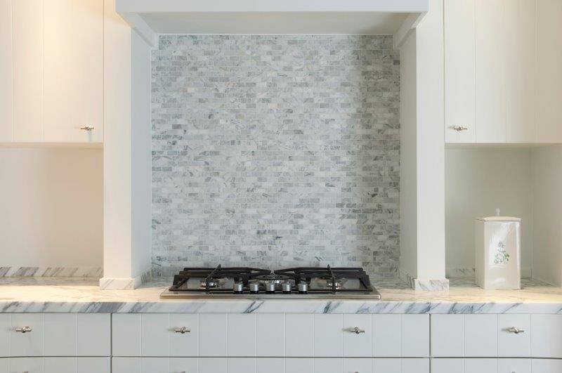 Bianco Carrara 'CD' - Mosaics type B
