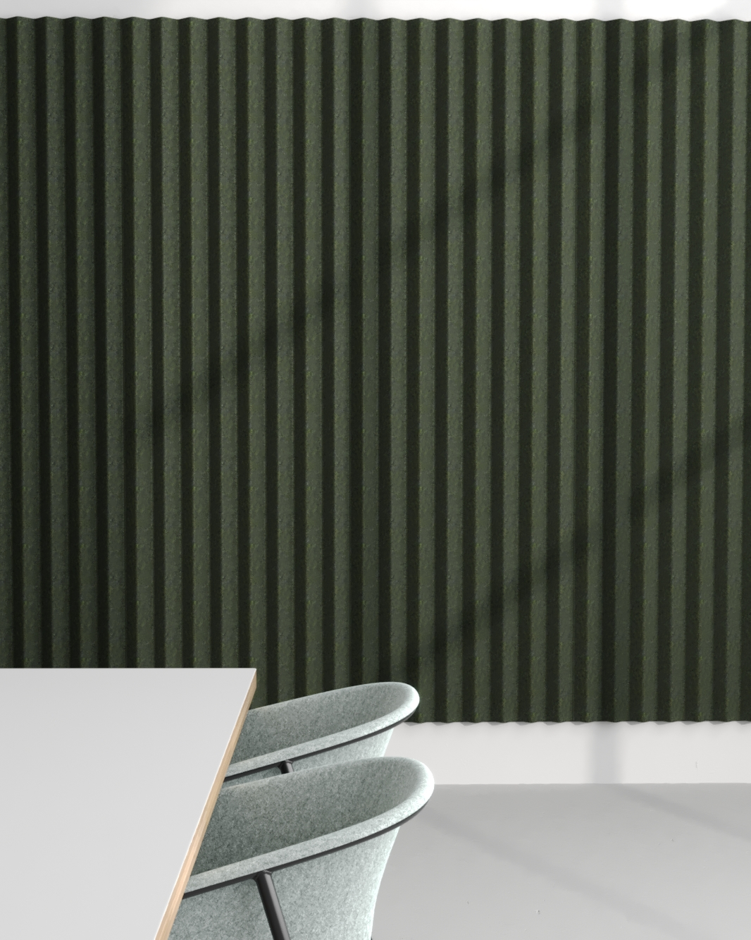 Mute - PET Felt Acoustic Panel, designed by meubel label De Vorm